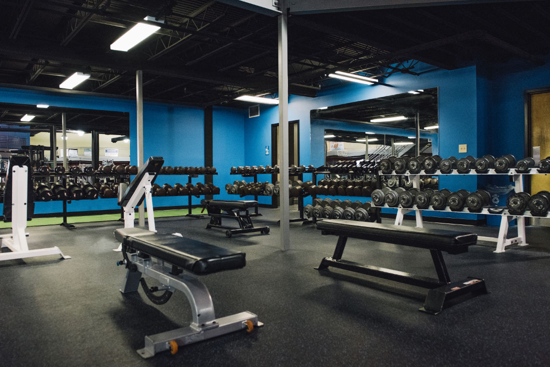 Dumbbell Area Photo