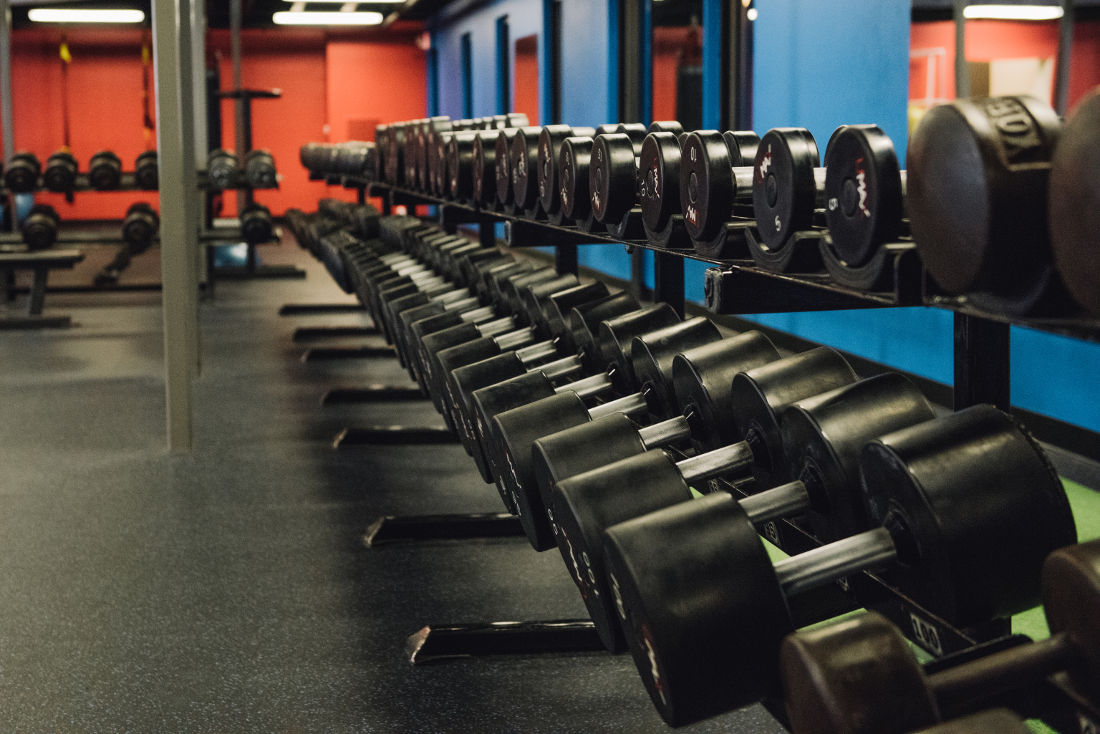 Dumbbell Rack Photo