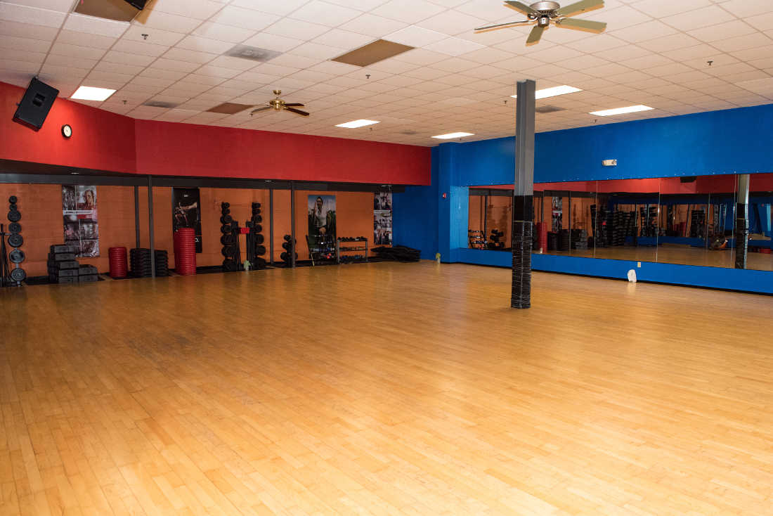 Group Fitness Room Photo